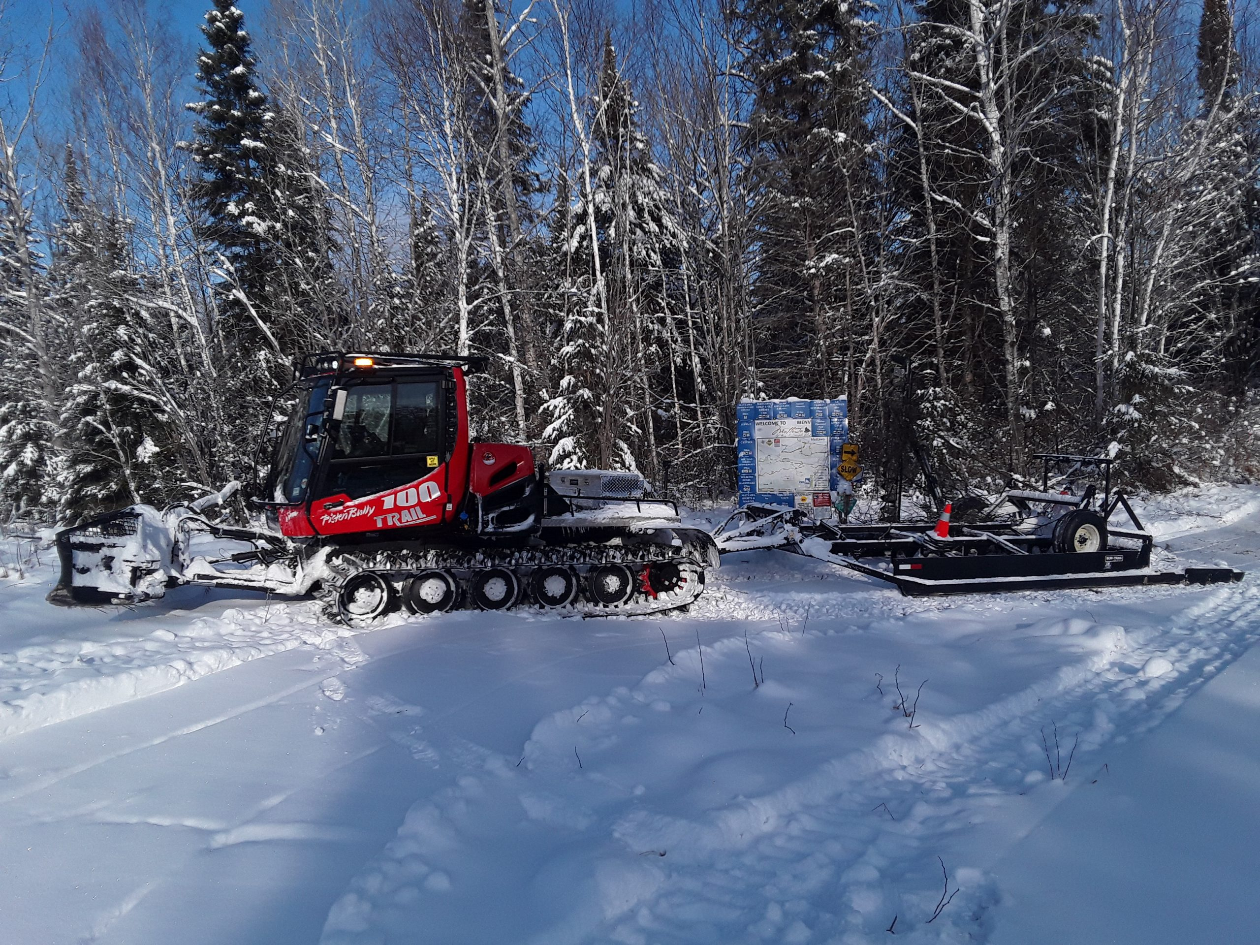 MAASC New Piston Bully Groomer